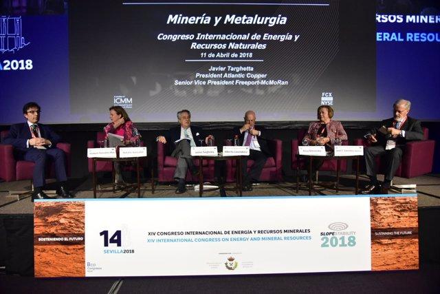 Mesa redonda en el XIV Congreso Internacional de Energía y Recursos Minerales