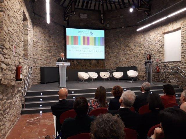 Lehendakari presenta en Vitoria la 'Agenda Euskadi Basque Country 2030'