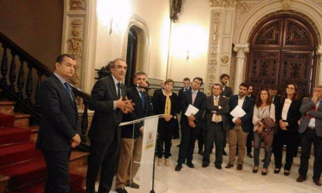 Comisión de seguimiento de las obras del AVE celebrada en octubre