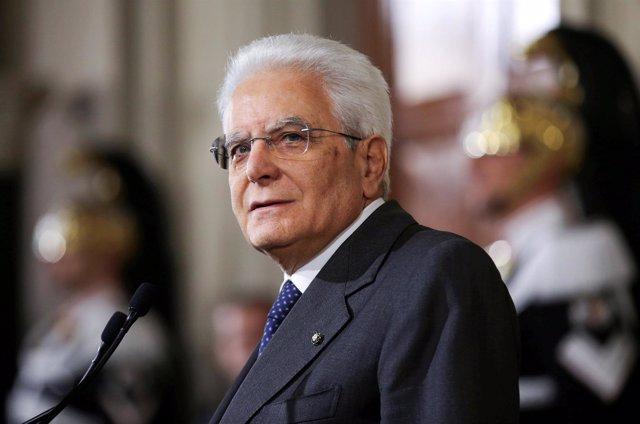 Resultado de imagen para presidente de italia