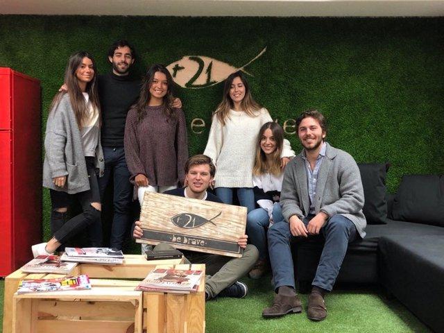 La 'startup' granadina C21BeBrave
