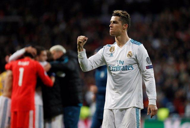 Cristiano Ronaldo celebra el pase a semifinales