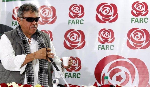 Jesús Santrich, antiguo jefe de la extinta guerrilla de las FARC