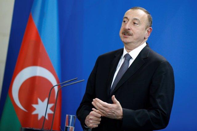 El presidente de Azerbaiyán, Ilham Aliyev