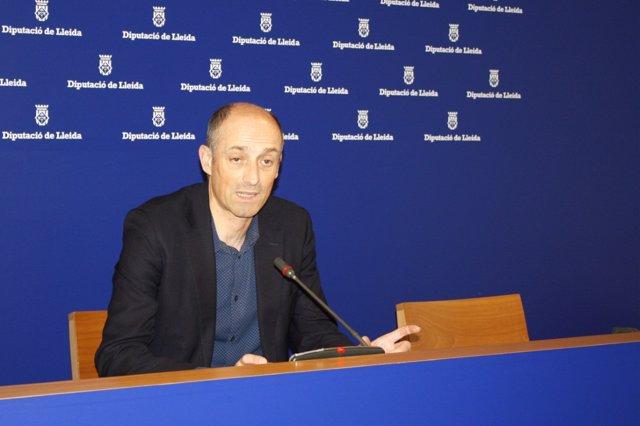 El director del OAGRTL de la Diputación de Lleida, Xavier Monné