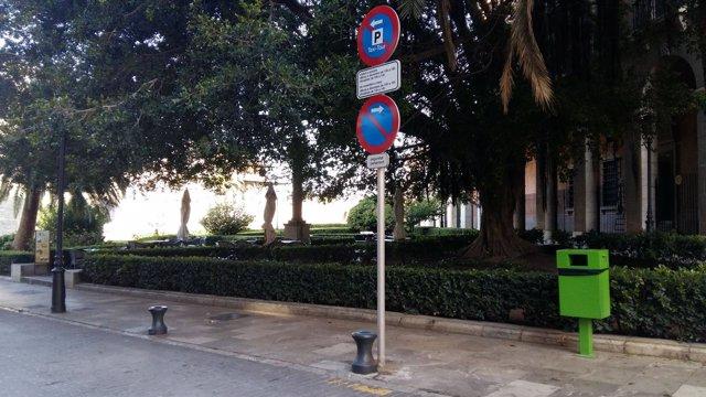 Reserva de aparcamiento para el servicio de Taxi-Tour cerca de la Catedral