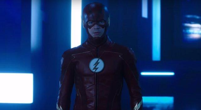 Grant Gustin en The Flash