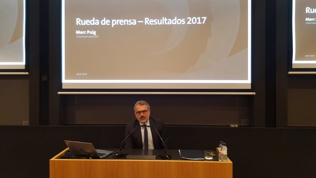 El presidente y CEO de Puig, Marc Puig
