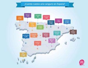 Cuánto cobra una niñera en España