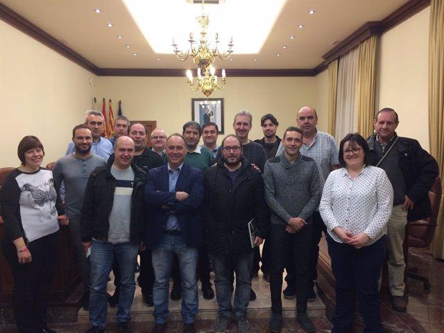 Reunión para organizar el Encuentro de Bandas de la provincia de Teruel