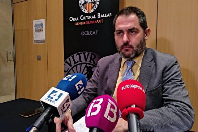 El presidente de la OCB, Josep de Luis