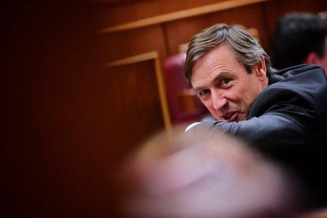 Rafael Hernando, portavoz parlamentario del PP