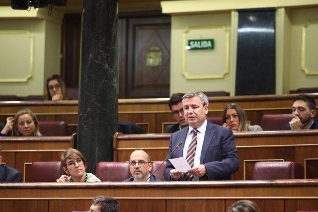 El diputado del PDeCAT Jordi Xucla en el Congreso