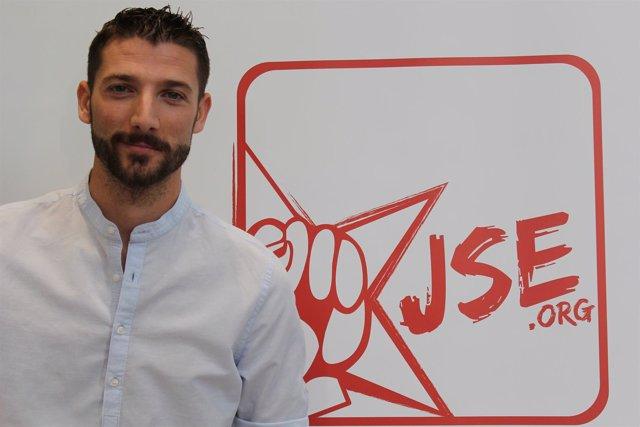 Omar Anguita, líder de Juventudes Socialistas de España