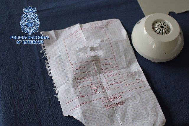 Carta en el marco de una operación de la Policía