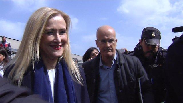 Cristina Cifuentes declina hacer declaraciones