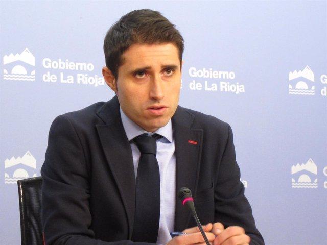 El director general de Desarrollo Rural, Daniel del Río