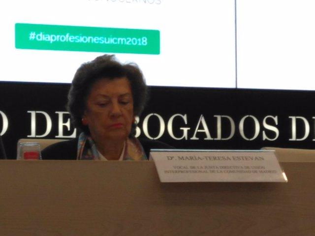 María Teresa Estevan Bolea