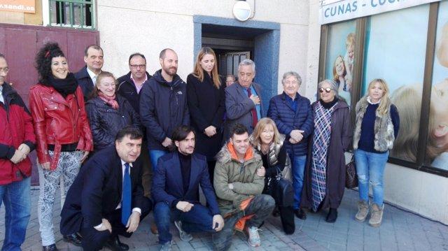 Homenaje a Ángel Nieto en Madrid