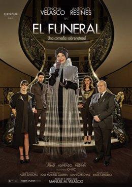 Cartel de 'El funeral', con Concha Velasco