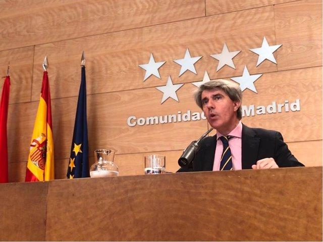 El portavoz de la Comunidad de Madrid, Ángel Garrido