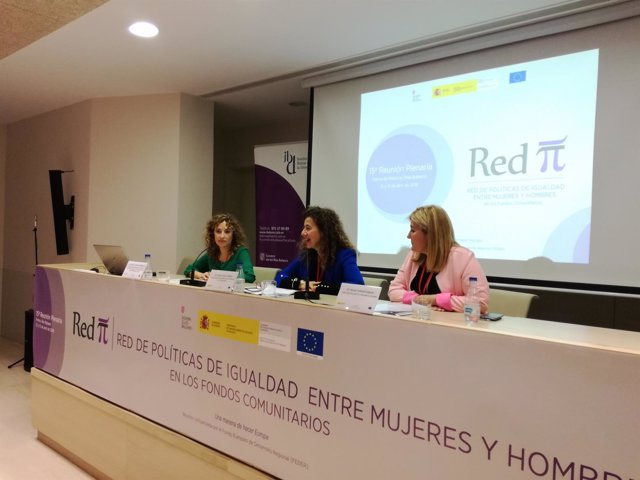 Pilar Costa en la Reunión Plenaria de la Red de Políticas de Igualdad