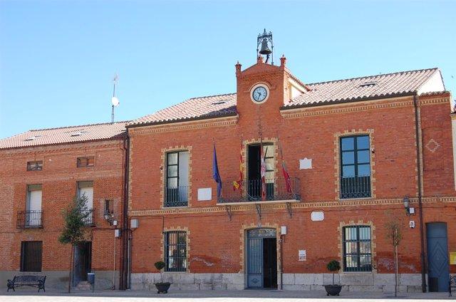 Ayuntamiento de Cigales (Valladolid).