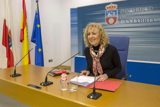La vicepresidenta, Eva Diaz Tezanos, informa de los acuerdos del Gobierno