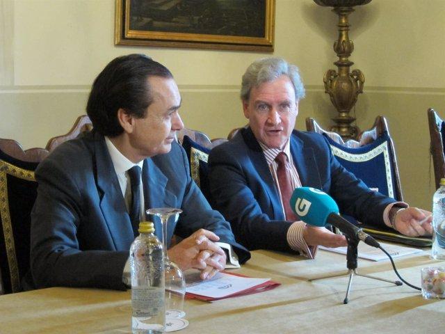 José Coronel de Palma y Martínez-Agulló y Manuel García Fernández