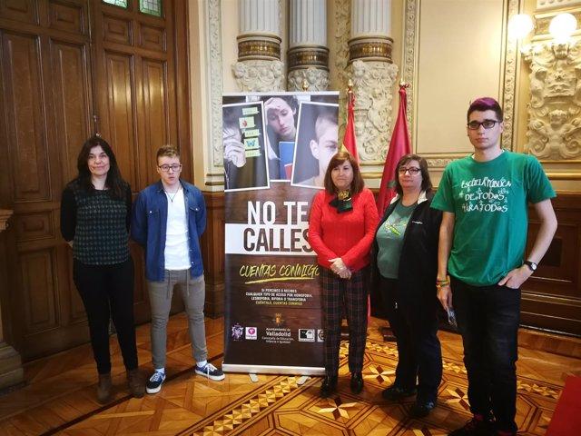 Presentación de la campaña contra el acoso escolar, 12-4-18