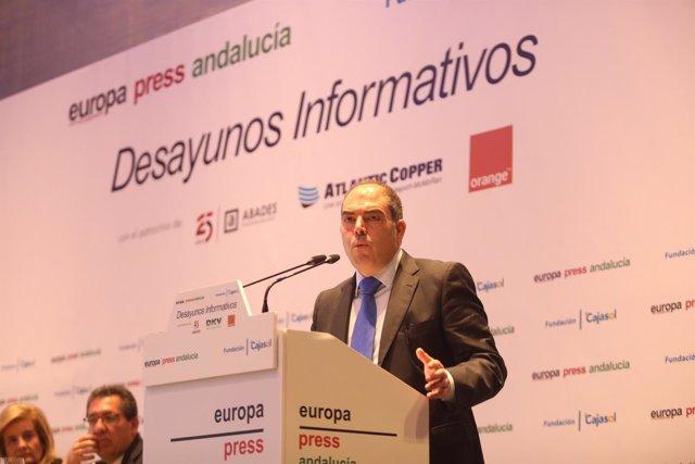 Lorenzo Amor desayuno Europa Press