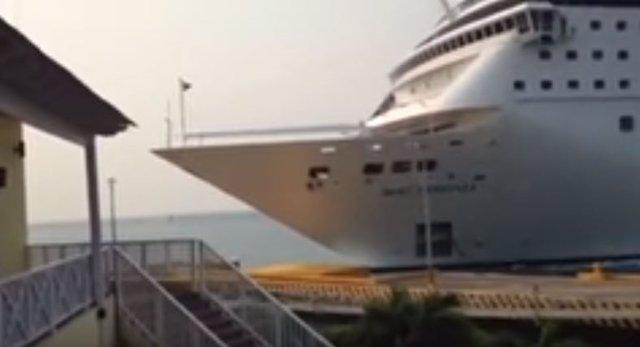 Choque de crucero