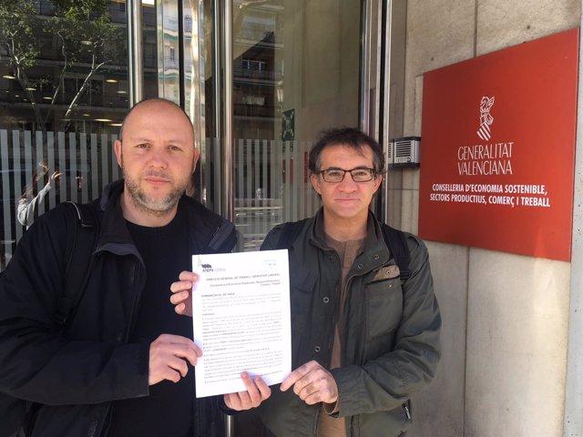 STEPV registra la convocatoria de huelga del profesorado interino