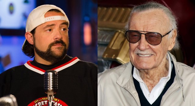 Kevin Smith y Stan Lee