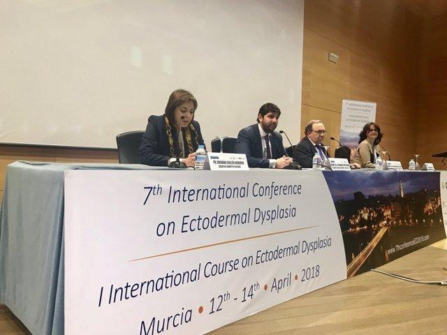 Inauguración Congreso Internacional de Displasia Ectodérmica