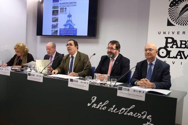 Presentación de la XVI edición de los Cursos de Verano de la UPO