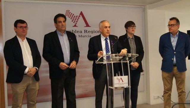 Rueda deprensa PSOE en Asamblea