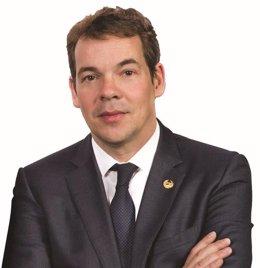 Oriol Altisench,  degà del Col·legi d'Enginyers de Camins, Canals i Ports