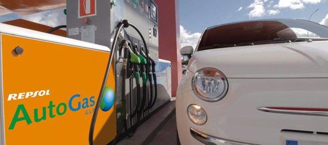 Recurso de vehículo de gas