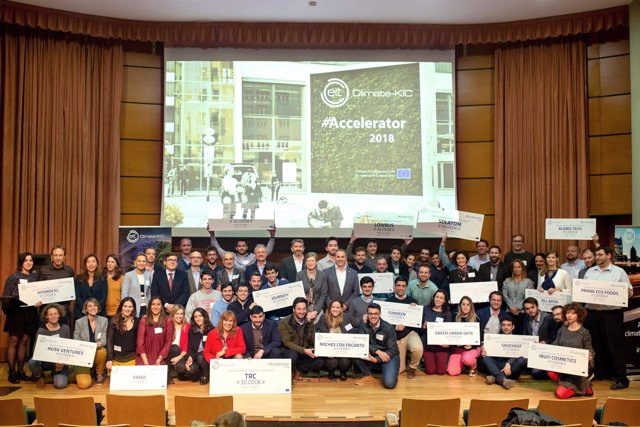 Quince startups españolas se incorporan al programa EIT Climate-KIC