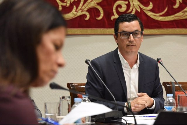 Pablo Rodríguez, en comisión