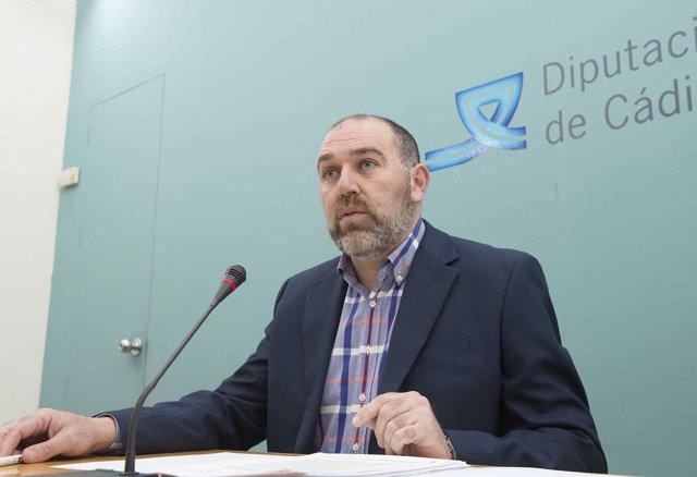 Jesús Solís, diputado provincial de Hacienda de la Diputación de Cádiz