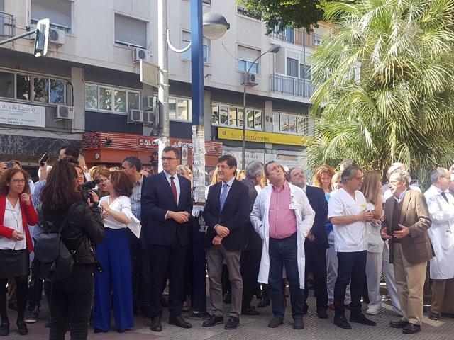 VILLEGAS Y EL ALCALDE ACTOS CONMEMORATIVOS MORALES