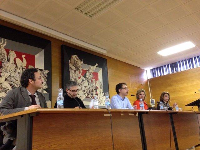 Mesa redonda sobre la situación del conflicto de la justicia en Galicia