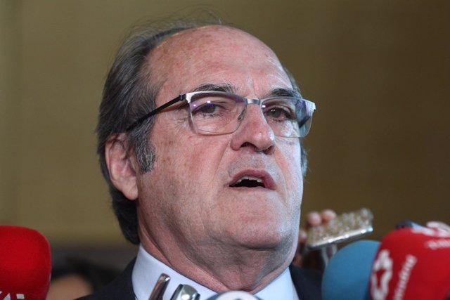 Declaraciones del portavoz del PSOE en la Asamblea de Madrid, Ángel Gabilondo