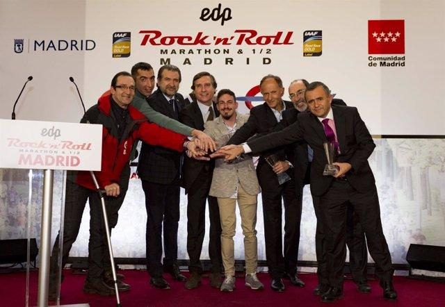 Presentación del Rock 'n' Roll Madrid Marathon &  201
