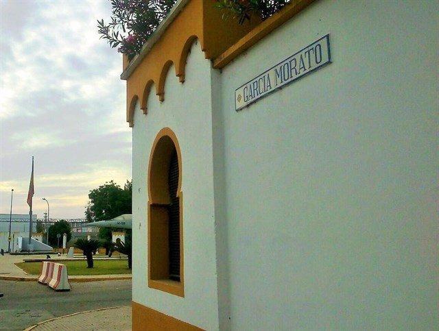Avenida rotulada en memoria del aviador franquista García Morato