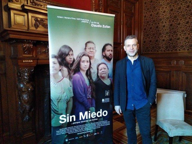 Claudio Zulian, director de 'Sin miedo'