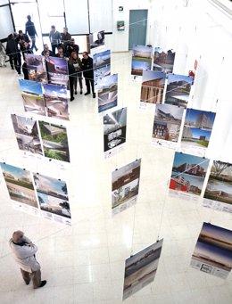 Exposición de arquitecto navarro francisco mangado UMA Arquitectura ETS