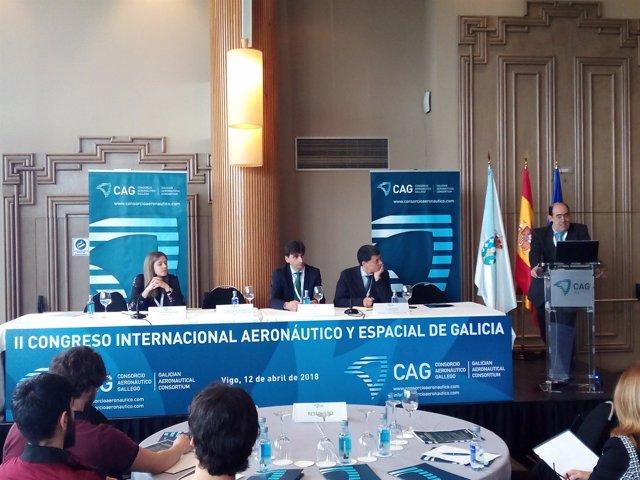 II Congreso Aeronáutico y Espacial de Galicia